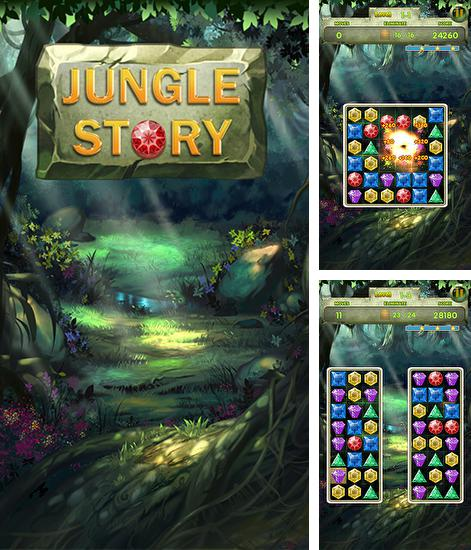 Jungle story: Match 3 game