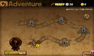 Screenshots of the JungleBell for Android tablet, phone.