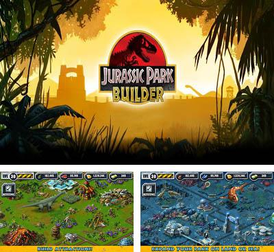 In addition to the game Theme Park for Android phones and tablets, you can also download Jurassic Park Builder for free.
