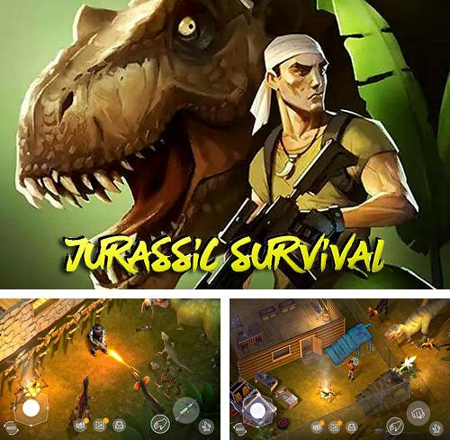 In addition to the game Guns and wheels zombie for Android phones and tablets, you can also download Jurassic survival for free.