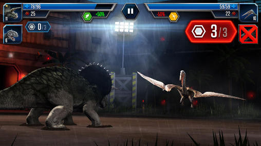 Jogue Jurassic world: The game para Android. Jogo Jurassic world: The game para download gratuito.