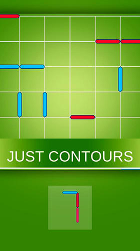 Just contours: Logic and puzzle game with lines