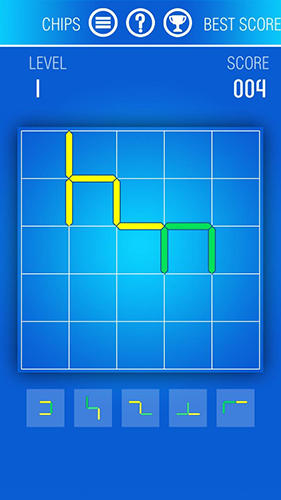 Screenshots von Just contours: Logic and puzzle game with lines für Android-Tablet, Smartphone.