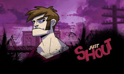 Just shout poster