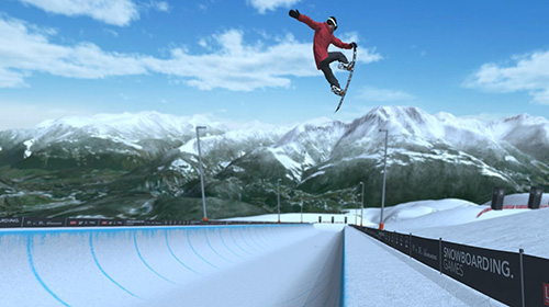 Screenshots von Just snowboarding: Freestyle snowboard action für Android-Tablet, Smartphone.