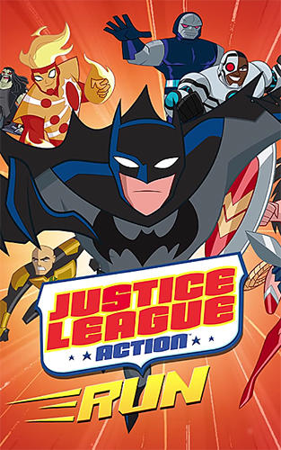Justice league action run poster