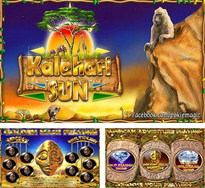 In addition to the game Slotomania for Android phones and tablets, you can also download Kalahari Sun Free for free.