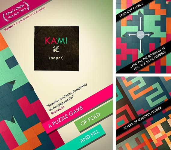 In addition to the game Hundreds for Android phones and tablets, you can also download Kami for free.