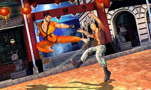 Kostenloses Android-Game Karate Kumpel: Kämpfe um die Vorherrschaft. Vollversion der Android-apk-App Hirschjäger: Die Karate buddy: Fight for domination für Tablets und Telefone.