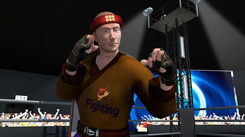 Screenshots von Karate fighting tiger 3D 2 für Android-Tablet, Smartphone.