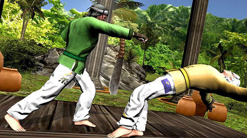 Capturas de pantalla de Karate fighting tiger 3D 2 para tabletas y teléfonos Android.
