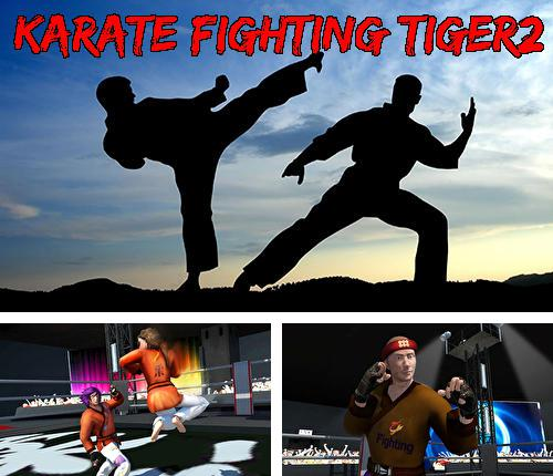 Karate fighting tiger 3D 2