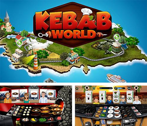 Kebab world: Cooking game chef