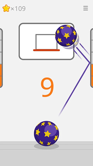 Screenshots von Ketchapp: Basketball für Android-Tablet, Smartphone.