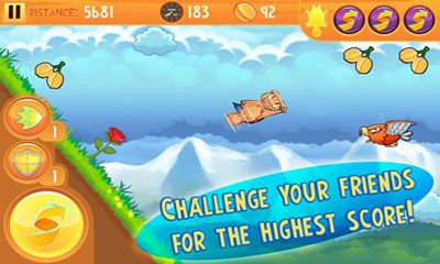 Download Kew Kew Sky Glider Squirrel Android free game.