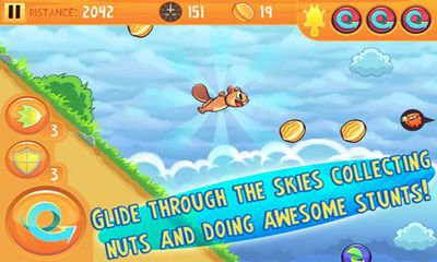Screenshots of the Kew Kew Sky Glider Squirrel for Android tablet, phone.
