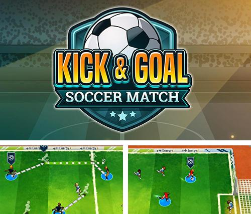 In addition to the game Kick and goal: Soccer match for Android, you can download other free Android games for Lenovo Tab V7.