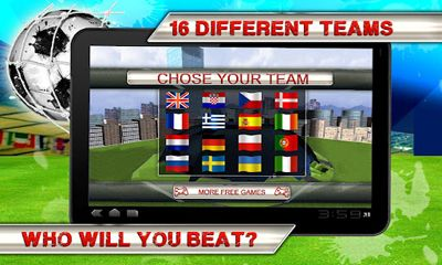 Kostenloses Android-Game Kick Flick Soccer. Vollversion der Android-apk-App Hirschjäger: Die Kick Flick Soccer Football HD für Tablets und Telefone.
