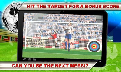Screenshots von Kick Flick Soccer Football HD für Android-Tablet, Smartphone.