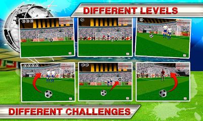 Screenshots of the Kick Flick Soccer Football HD for Android tablet, phone.