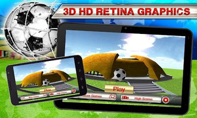 Kick Flick Soccer Football HD скриншот 5