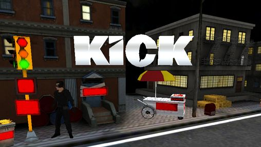 Kick: Movie game poster