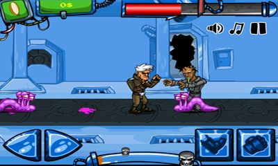 Screenshots of the Kick Puncher for Android tablet, phone.