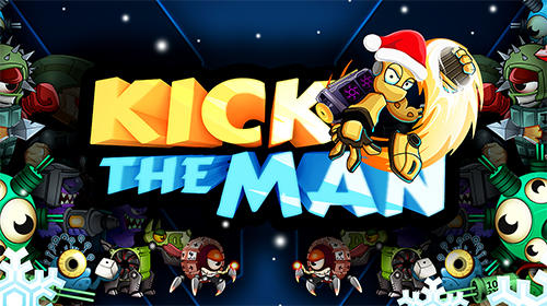 Kick the man