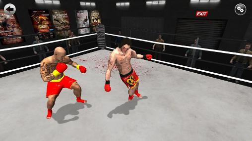Capturas de pantalla de Kickboxing: Road to champion para tabletas y teléfonos Android.