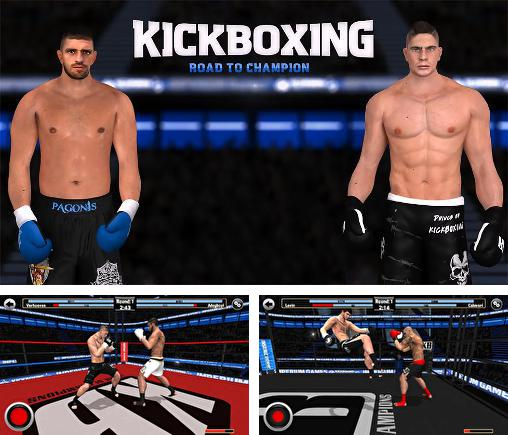 In addition to the game Real Boxing for Android phones and tablets, you can also download Kickboxing: Road to champion for free.