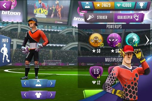 Kicks! Football warriors screenshot 1