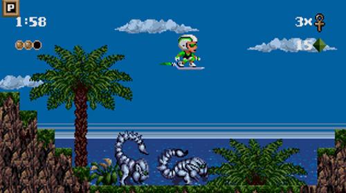Kid Chameleon classic screenshot 1