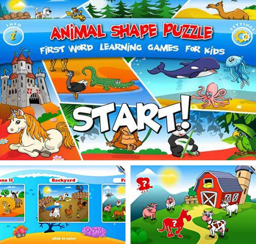 Kids animal preschool puzzle l