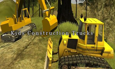 Kids Construction Trucks обложка
