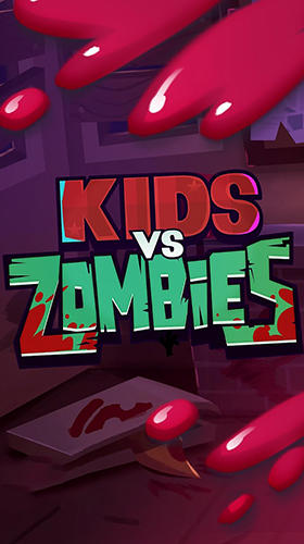 Kids vs. zombies poster