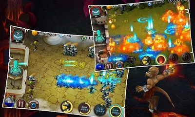 Screenshots of the Kill Devils for Android tablet, phone.