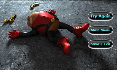 Capturas de pantalla de Killer Bean Unleashed para tabletas y teléfonos Android.
