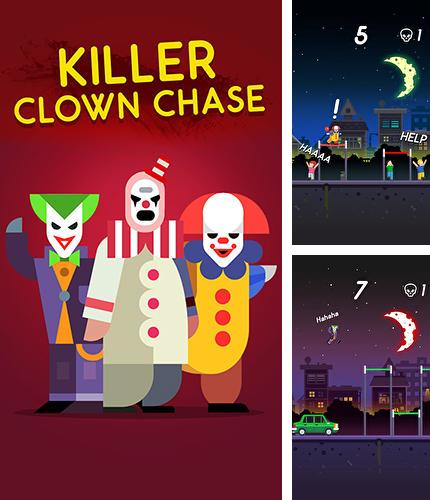 In addition to the game Creepy clown attack for Android phones and tablets, you can also download Killer clown chase for free.
