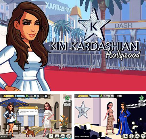 In addition to the game Stardom: The A-List for Android phones and tablets, you can also download Kim Kardashian: Hollywood for free.