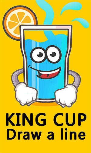 King cup: Draw a line poster
