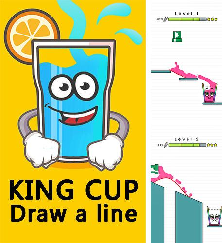 King cup: Draw a line