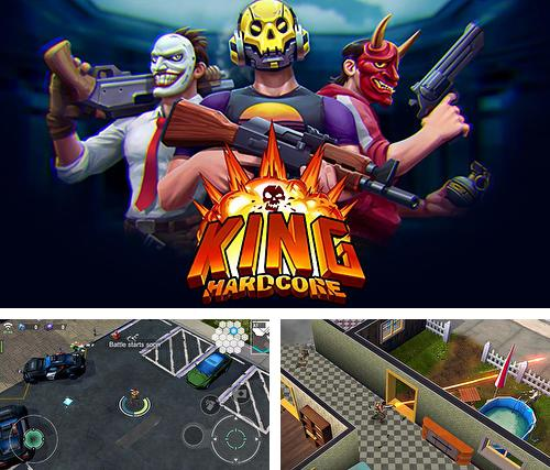 King hardcore: Battle royale shooter