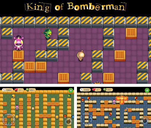 In addition to the game Marv The Miner 3: The Way Back for Android phones and tablets, you can also download King of bomberman for free.