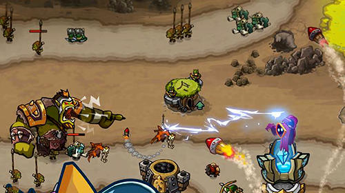 Screenshots do King of defense: Battle frontier - Perigoso para tablet e celular Android.