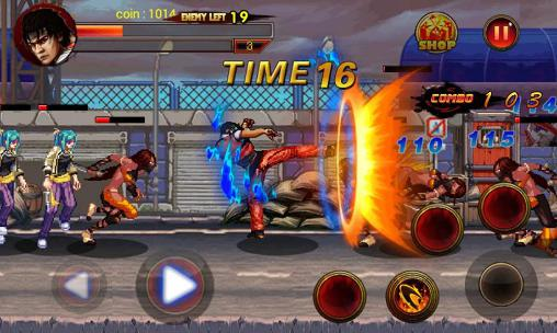 Download King of kungfu: Street combat Android free game.