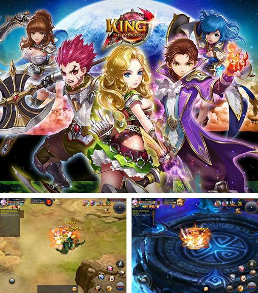 In addition to the game Pirate cat: Saga for Android phones and tablets, you can also download King: The MMORPG for free.