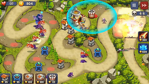 Screenshots von Kingdom defense: Tower wars TD für Android-Tablet, Smartphone.
