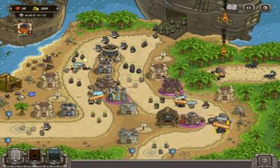 Screenshots of the Kingdom rus: Frontiers for Android tablet, phone.