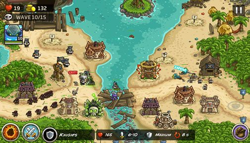 Screenshots von Kingdom rush: Frontiers für Android-Tablet, Smartphone.