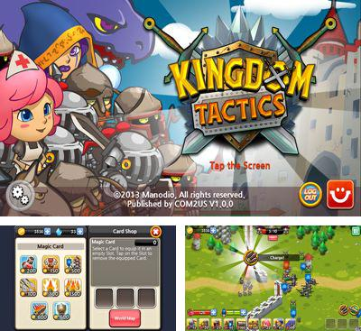 In addition to the game Devils at the Gate for Android phones and tablets, you can also download Kingdom Tactics for free.